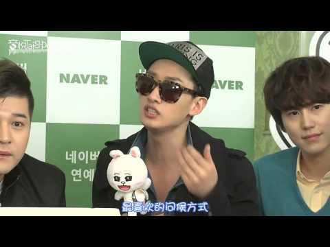 130321【全場中字】LINE TALK - Super Junior