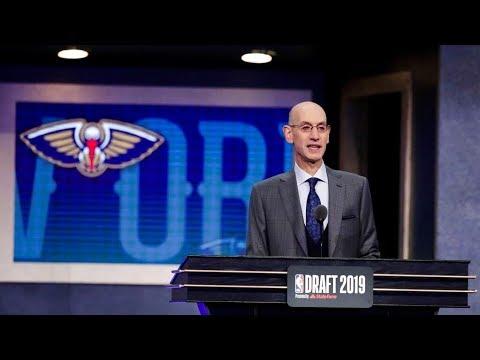 NBA選秀 鵜鶘持狀元籤挑走新星威廉森 20190621 公視中晝新聞