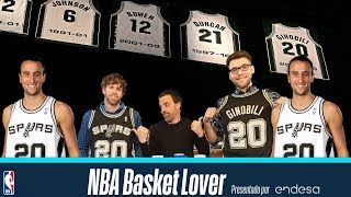 Manu Ginóbili: ¿La CARRERA PERFECTA? Curiosidades y anécdotas NBA Basket Lover | Ep 46
