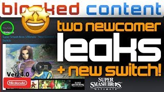 The Hero DROPPING In a Few HOURS?! 2 Smash Newcomers LEAK + New Switch REVISION! - LEAK SPEAK!