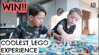 BUILDING THE BIGGEST LEGO STRUCTURE | WIN A SUPERBUILD EXPERIENCE | KERRY WHELPDALE | AD
