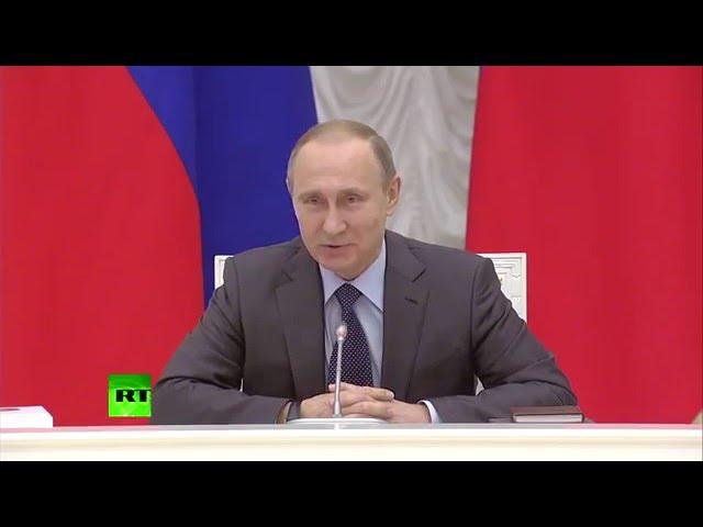 Let me speak from my heart: Путин поздравил Мутко с Днём рождения и подарил ему русско-английский разговорник