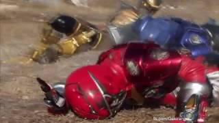 """All """"broken helmet"""" scenes in Super Sentai"""