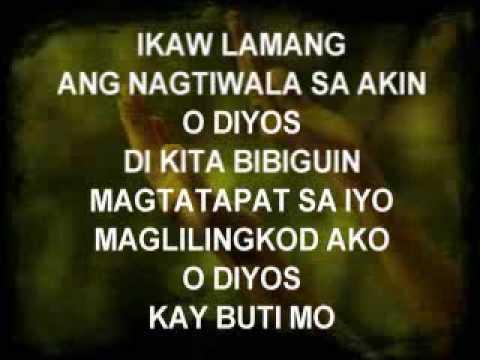 Ikaw Lamang - Christian Song