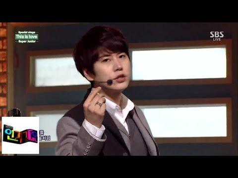[슈퍼주니어(Super Junior)] This is love(디스이스러브) @인기가요 Inkigayo 141026