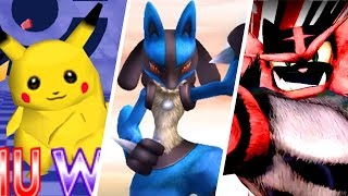 All Victory Themes in Super Smash Bros. games (1999 - 2018)