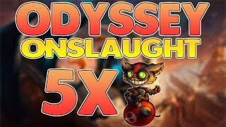 HOW TO BEAT ODYSSEY ONSLAUGHT WITH 5 ZIGGS ON-HIT & AP BUILD | Free Odyssey Orb | League of Legends
