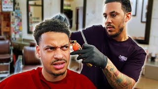 When your barber f**** you up