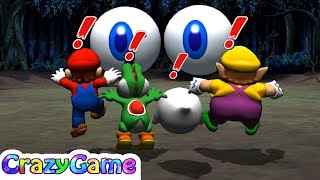 Mario Party 8 - All Funny Minigames Gameplay