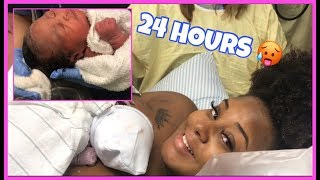 Teen mom   Realistic First 24 Hours With A Newborn Baby ❤️