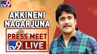 Akkineni Nagarjuna Press Meet LIVE- ANR National Award..