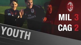 AC Milan-Cagliari 3-2 | AC Milan Youth Official