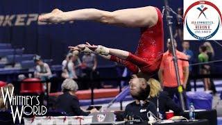 Whitney Bjerken | USA Gymnastics Region 8 Level 10 Championships