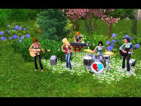 Ранетки-Пришла весна The Sims 3