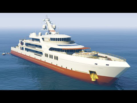 Ultimate 10 000 000 Yacht Tour Gta 5 Dlc Xem Video