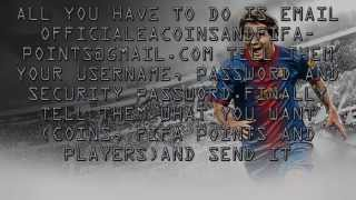 Gow To Get Free Fifa 14 Players Coins AND Fifa Points EASY NO SURVEY
