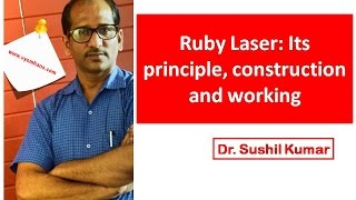 Ruby Laser Construction and Working: First LASER