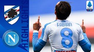 Sampdoria 0-2 Napoli | Fabian Ruiz and Osimhen on Target for Napoli! | Serie A TIM