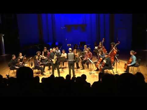 Concerto en mi bémol Majeur opus 109, Alexander Glazounov - Nicolas Arsenijevic, Vincent David