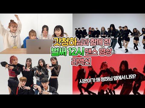 [AB] 갓청하님과 함께 한 '벌써 12시' 리액션 | Chungha - Gotta go dance cover with ChungHa 'Reaction'
