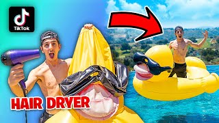 Testing VIRAL TikTok SUMMER Life Hacks... **THEY ALL WORKED**