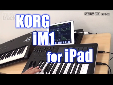 KORG iM1 for iPad Demo & Review [English Captions]