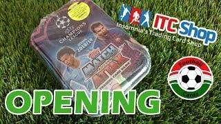 Topps Champions League 18/19 Match Attax Mini Fémdoboz | Opening