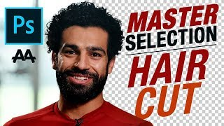 Hair Selection :: Master Selection In Adobe Photoshop CC - احتراف قص الشعر
