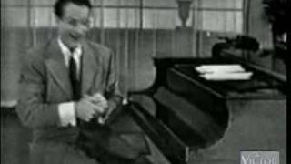 Victor Borge - how people with different occupations play the piano