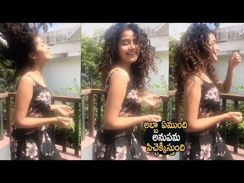 Actress Anupama Parameswaran singing video goes viral