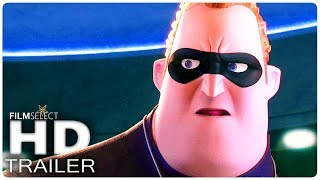 INCREDIBLES 2: 4 Minute Extended Trailer (2018)