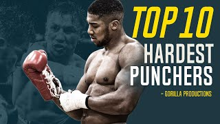 Top 10 Hardest Punchers In Boxing (circa 2020)   GP