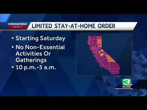 California orders 'limited' curfew amid COVID-19 surge