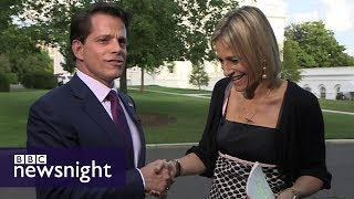 Anthony Scaramucci: Interview with Trump's (now fired) comms director - BBC Newsnight