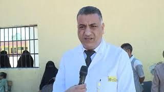 قافلة من وزارة الداخلية الي منطقة الواحات البحرية     -