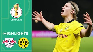 Haaland, Sancho & Co. unstoppable | Leipzig vs. Borussia Dortmund 1-4 | Highlights | DFB-Pokal Final