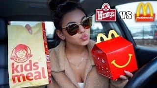 McDonald's VS Wendy's Happy Meal