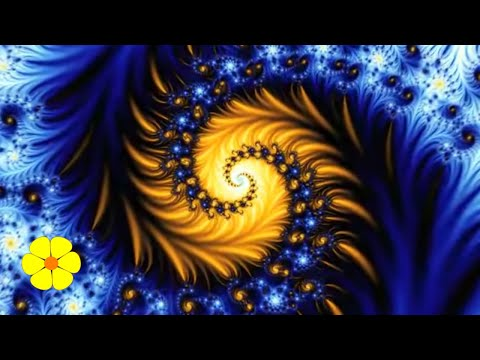 Benoit Mandelbrot Zoom Fractals - Geometry of Nature - Chillout Music for Meditation or Study