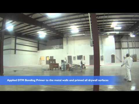 commercial warehouse painting