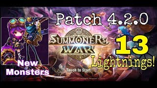 Patch 4.2.0 SUMMONERS WAR NEW MONSTERS | Cannon Girl & Sniper MK | Rage Summon