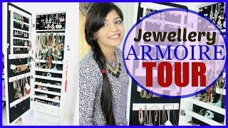 Jewellery Collection And Storage + Armoire Tour | SuperPrincessjo