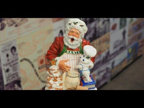 Santa in General Mills Ads