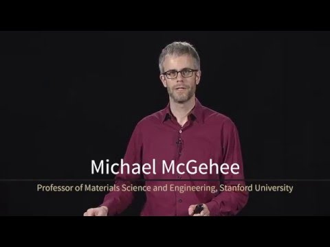 Michael McGehee, a professor of materials science and engineering at Stanford University, provides a preview of what is taught in his online energy course 'Solar Cells.'