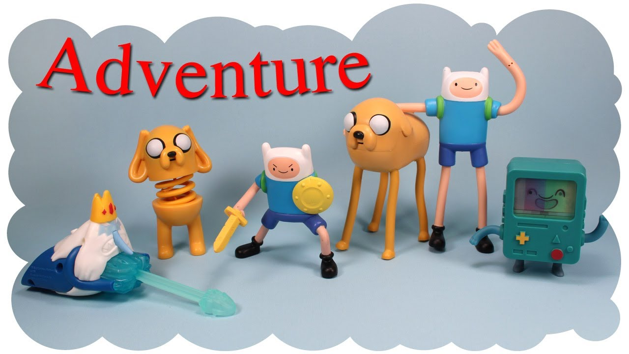 Mcdonald S Adventure Time Happy Meal Six Collection 2014