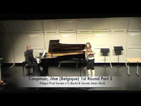 Coopman, Jitse Belgique 1st Round Part 2