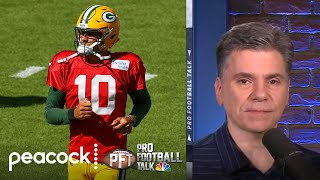 Jordan Love in a 'no-win situation' due to Aaron Rodgers | Pro Football Talk | NBC Sports