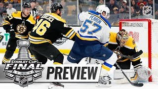E.J. Hradek, Dan Rosen preview the 2019 Stanley Cup Final