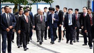 Mahathir witnesses drone demonstration in Beijing