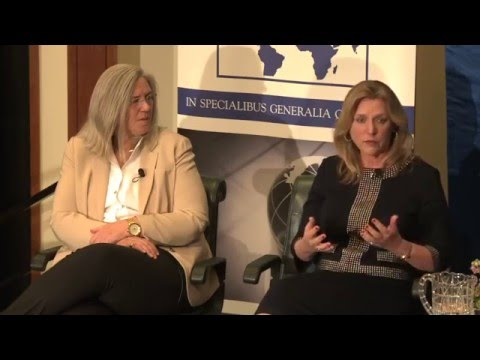Women in National Security: Air Force Sec. Deborah James, NGA Dep. Dir. Sue Gordon