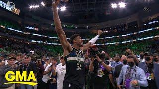 Milwaukee Bucks win 1st NBA title in 50 years l GMA
